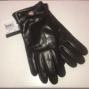 *NEW* Black Leather Gloves